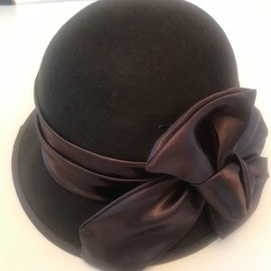 August Fine Millinery Collection Round Church Hat